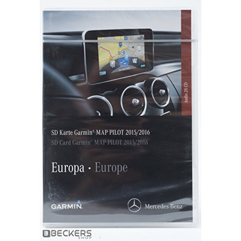 garmin map pilot 2016 sd karte europa mercedes teileno. Black Bedroom Furniture Sets. Home Design Ideas
