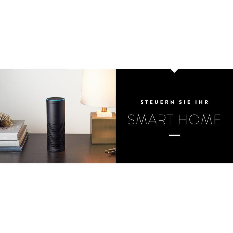 neu amazon echo alexa deutsche version 2018 farbe. Black Bedroom Furniture Sets. Home Design Ideas