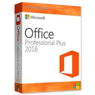 Microsoft Office 2016 Profesional plus | für 1 PC/Mac+1 Tablet Word, Excel, PowerPoint