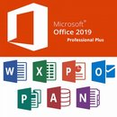 Microsoft Office 2019 Profesional plus | für 1 PC/Tablet...